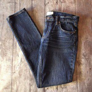 Free People Skinny Dark Wash Jeans Size 27